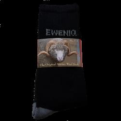 Black Eweniq Merino Socks