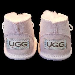 Baby UGG boots brand backside shot