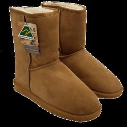Classic Short Australian Sheepskin Ugg Boots Chestnut side
