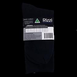 Pure Cotton Medical Top Socks Black back