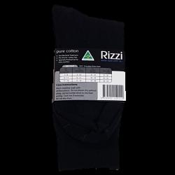 Pure Cotton Normal Top Socks Black back