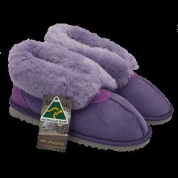 Princess Ugg Slipper Purple side