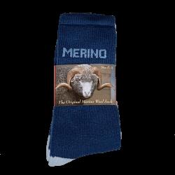 Denim Eweniq Merino Socks