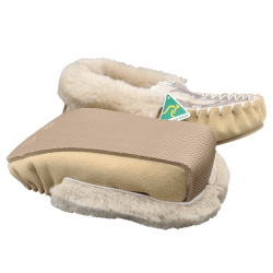 Personalised Sheepskin Moccasin Slippers bottom
