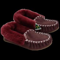 Rubundy Sheepskin Moccasin Slippers side